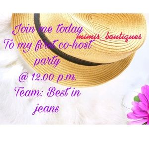 Co-hosting my first Posh Party Join me today @ 12